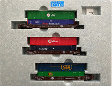 """N SCALE KATO # 106-6177 """" BNSF Orginal Logo"""" With Mixed Containers # 253791"""