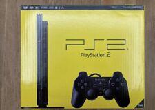 Sony PlayStation 2 Slim Schwarz Konsole-SCPH - 77004