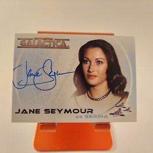 Battlestar Galactica: Colonial Warriors A12 Jane Seymour Serina Autograph card