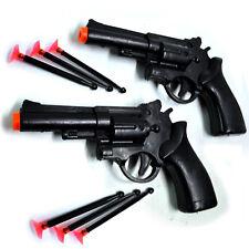 Spielzeug Pistolenset mit 6 Saugnapf Pfeilen Kinderpistole Pfeilpistolen
