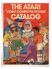 "Poster : 1981 Atari 2600 Catalog Cover - 16""x20"" Premium Matte Paper"