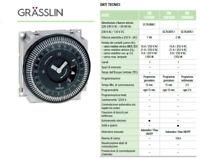 SOLARIS GRASSLIN FM INTERRUTTORE MODULARE MECCANICO TIMER