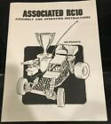 Team Associated 6001 RC10 Gold Chassis Assembly Instructions Manual