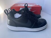 Nike Court Borough Low EP (GS) Size US 3.5Y BV0744 001 Kids Boys