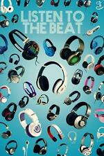 LISTEN TO THE BEAT-Maxi Poster 61 cm x 91.5 cm nouvelle et scellée