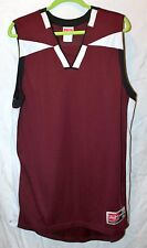 RAWLINGS Red Maroon White Mesh Basketball Shirt sz Large NWT! Jersey Top Sport
