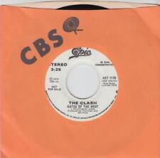 """The Clash Promo Music 7"""" Single Records"""