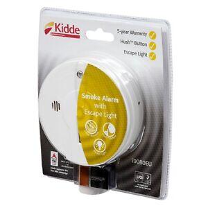 Kidde i9080 Smoke Alarm Detector with Emergency Escape Light Home