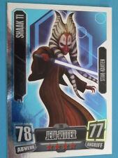Force Attax Clone Wars Serie 2 (2011), Shaak Ti (200), Star-Karten