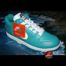 Supreme Nike SB Air Force 2 TEAL Sz 12 DS jordan yeezy OG Dunk High Low II FW17