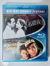 Casablanca & The African Queen BluRay Double Feature New Factory Sealed 2013