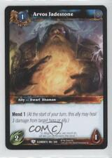 2010 World of Warcraft TCG: War the Elements 108 Arvos Jadestone Gaming Card 0b5