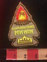 Vtg 1974 Texas ALAMO AREA COUNCIL POW WOW POWWOW Boy Scout BSA Patch 84V9