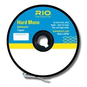 RIO Hard Mono Saltwater Tippet - NEW FREE SHIPPING