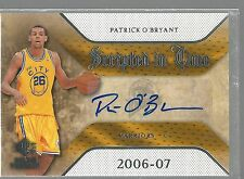 2007-08 SP Rookie Threads Scripted in Time #PO Patrick O'Bryant