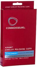 Connoisseurs Silver Jewelry Polishing Cloths 2pieces (ps1013X2)