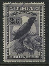 Tonga 1897 2/6d dark purple Parrot used