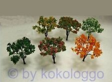 x24 Set Trees 12 Pieces Deciduous Trees/Shrubs Flowering 6cm