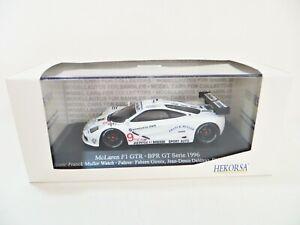 IXO HEKORSA 'McLAREN F1 GTR #9. FRANK MULLER' BPR GT SERIES, 1996. 1:43. MIB.