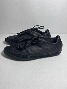 Puma Leather Suede Black sneakers 7us 39 Eur