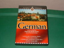 Visual Passport German Cultural Immersion Experience 2 DVD's & 2 CD's