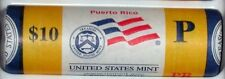 "2009-P Puerto Rico Territorial Quarter ""Beautiful"" Yellow Coin Roll"