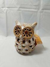 Ceramic Owl Potpourri Fragrance Sachet Bag Holder Decor New NWT