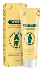 100% Natural Zdorov ARTRAID Cream for Osteochondrosis - FREE SHIPPING WORLDWIDE