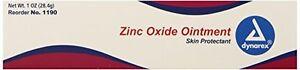 4 Pack Dynarex Zinc Oxide Ointment Skin Protectant No.1190 1 Oz Each