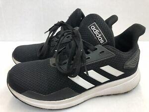 Adidas Girls Sneaker Black & White Youth Size 3