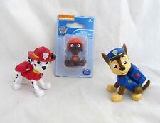 Paw Patrol Lot Police Fireman Dog Chase Marshall Zuma Figure Figurine Play Set