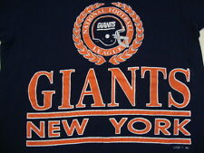 Vintage NFL New York Giants Football Tackle Teamwork Sports Fun Rough T Shirt S