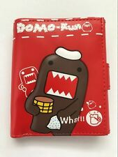 New Super Kawaii Anime Womens Girls Boys Mens Domo Kun ID Purse Coin Wallet