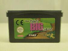 Nintendo Gameboy Advance GBA SP DS - Disney's Piglet's Big Game
