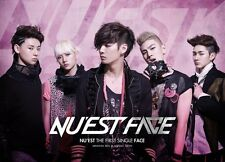 NU'EST [FACE] THE FIRST SINGLE Album CD+Photo Book NUEST K-POP SEALED