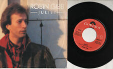 ROBIN GIBB  disco 45 g MADE in  ITALY Juliet + Heart on fire 1983 BEE GEES