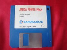 AMIGA POWER PACK - PINNBALL WIZARD - QUIWI - COMMODORE 1988 DISKETTE