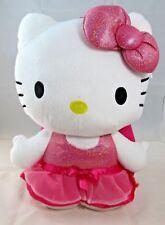 SanRio - Hello Kitty Plush Backpack (Sparkle Dress & Bow) {SKN#804323}
