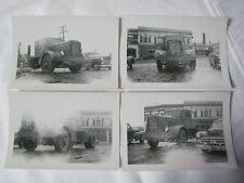 BARNES FOOD EXPRESS TRUCK TRANSPORTATION TRUCKING RED OWL VINTAGE PHOTO    T*