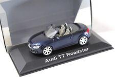 1:43 Schuco Audi TT Roadster Tiefsee blue DEALER NEW bei PREMIUM-MODELCARS