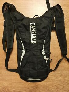 Camelbak Classic 2L Hydration Bike Cycling  Black Back Pack No Resevoir