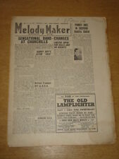 MELODY MAKER 1947 FEBRUARY 1 CHARLIE CHESTER HARRY HAYES HARRY ROY +