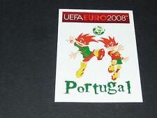 N°98 MASCOTTES PORTUGAL PANINI FOOTBALL UEFA EURO 2008
