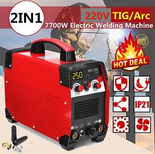 220V 2 in 1 TIG ARC Electric Welding Machine 20-250A MMA IGBT Stick Inverter
