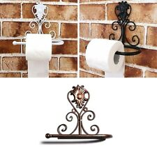 1PC Kitchen Bathroom Wall Mounted Paper Towel Roll Holder Toilet Rack Storage