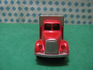 Estremely Rare Tootsietoy - Mack Truck Tilt Trailers - Chicago USA 1950'