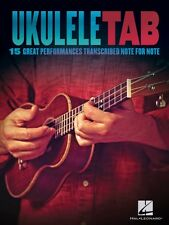 Ukulele Tab Sheet Music 15 Great Performances Transcribed Note-for-Not 000103823