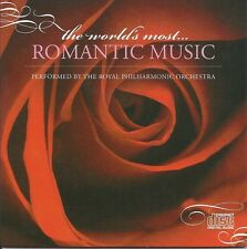THE WORLDS MOST ROMANTIC CLASSICAL MUSIC TOTAL RELAXATION SPA MUSIC CD