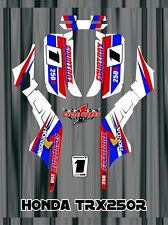 TRX250R TRX 250R HONDA FOURTRAXM SEMI CUSTOM GRAPHICS KIT CLASSIC RETRO 2
