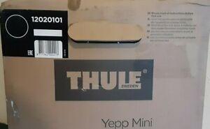 Thule Yepp Mini Bicycle Child Seat w/ Buckle Handlebar Foot Rests & Straps Black